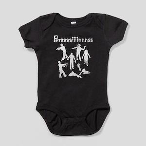 Braaaaiiiinnnss Baby Bodysuit