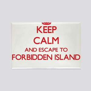 Keep calm and escape to Forbidden Island N Magnets