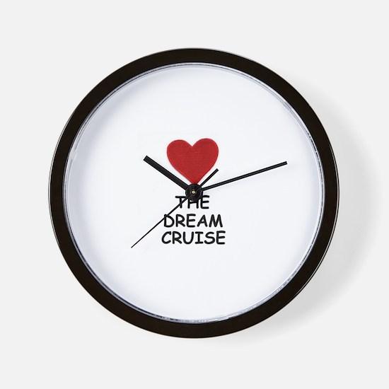 LOVE THE DREAM CRUISE (DOG STYLE) Wall Clock