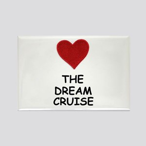 LOVE THE DREAM CRUISE (DOG STYLE) Rectangle Magnet