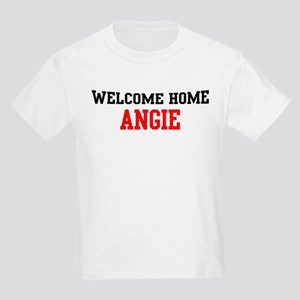 Welcome home ANGIE Kids Light T-Shirt