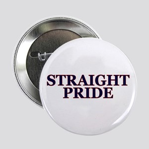 "Proud Straight Pride 2.25"" Button"