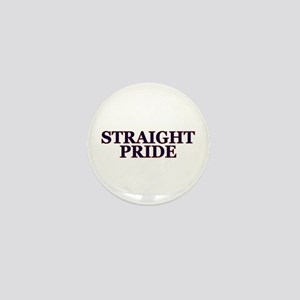 Proud Straight Pride Mini Button