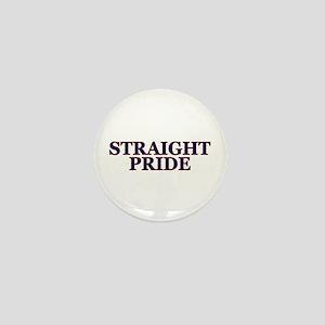 Proud Straight Pride Mini Button