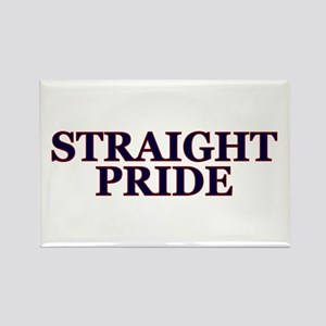 Proud Straight Pride Rectangle Magnet Magnets