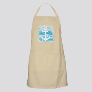 Watercolor Anchor Apron