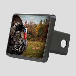 autumn landscape country t Rectangular Hitch Cover