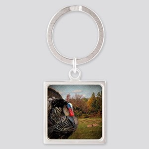 autumn landscape country turkey Square Keychain