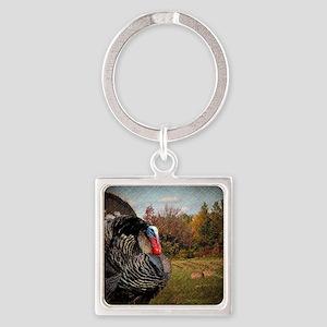 autumn landscape country turkey Square Keychain