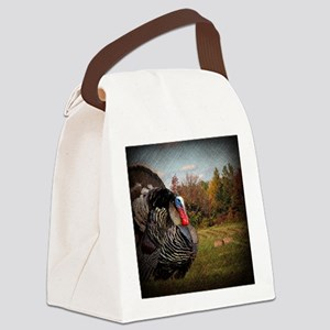 autumn landscape country turkey Canvas Lunch Bag