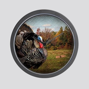 autumn landscape country turkey Wall Clock