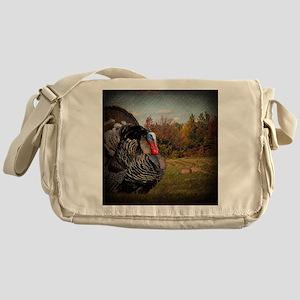 autumn landscape country turkey Messenger Bag
