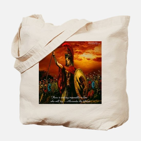 Alexander The Great Tote Bag