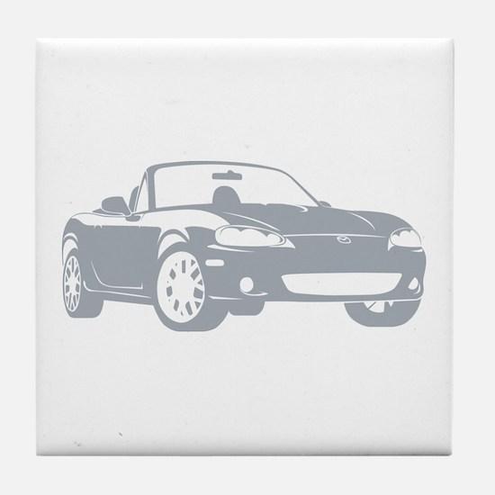 NB Silver Tile Coaster