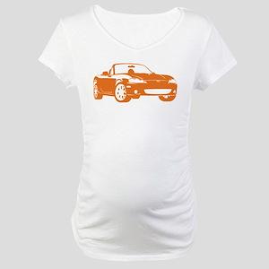 NB Orange Maternity T-Shirt