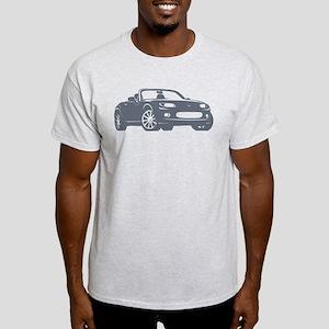 NC 1 Gray Miata Light T-Shirt