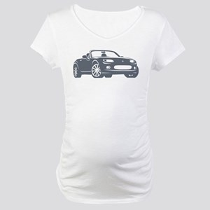 NC 1 Gray Miata Maternity T-Shirt