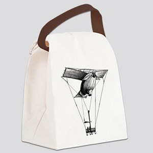VIntageAirballoon Canvas Lunch Bag
