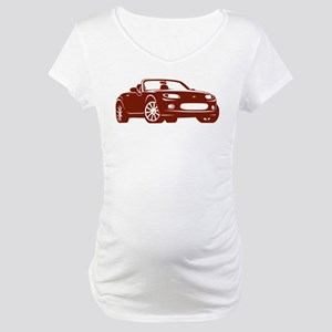 NC 1 Copper Miata Maternity T-Shirt