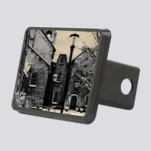 vintage church street ligh Rectangular Hitch Cover