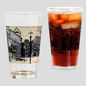 vintage church street light Drinking Glass