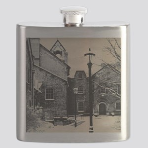 vintage church street light Flask