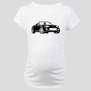 NC 1 Black Miata Maternity T-Shirt