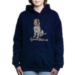 Spinone Italiano Women's Hooded Sweatshirt
