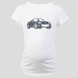 NC 2 Gray Miata Maternity T-Shirt