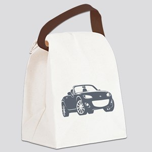 NC 2 Gray Miata Canvas Lunch Bag