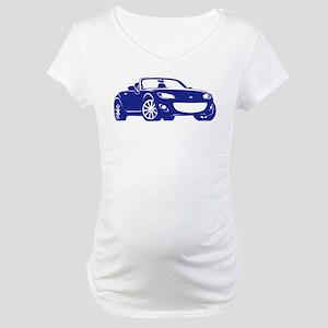 NC 2 Blue Miata Maternity T-Shirt
