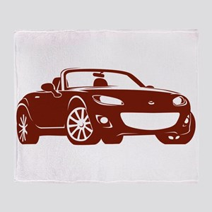 NC 2 Copper Miata Throw Blanket
