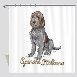 Spinone Italiano Shower Curtain