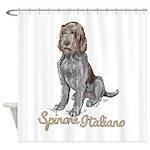 Spinone Italiano Shower Curtain
