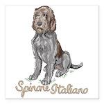 """Spinone Italiano Square Car Magnet 3"""" X 3&quo"""