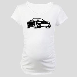 NC 2 Black Miata Maternity T-Shirt
