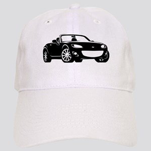 NC 2 Black Miata Cap
