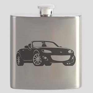 NC 2 Black Miata Flask