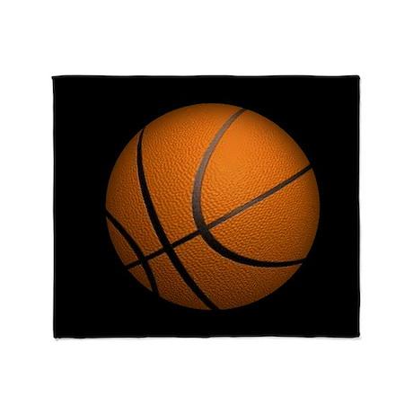 Basketball Sports Throw Blanket