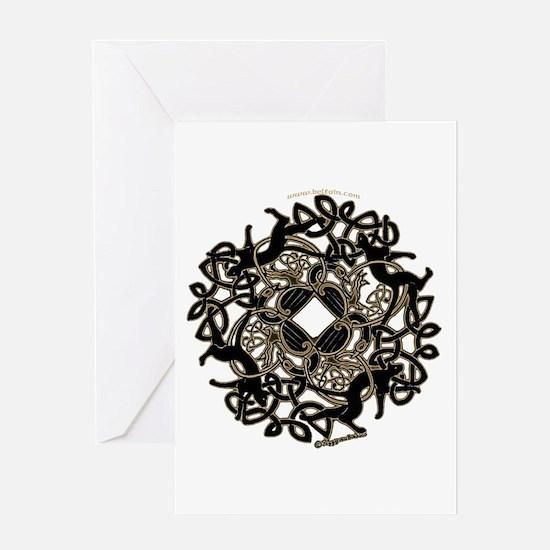 Samhain Celtic Knot Greeting Card