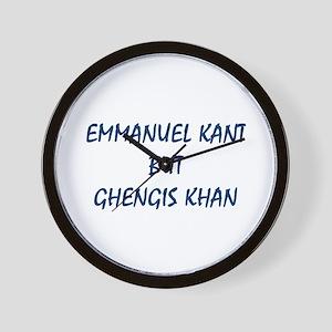 EMMANUEL KANT Wall Clock