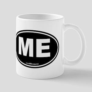 Maine ME Euro Oval Mug