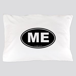 Maine ME Euro Oval Pillow Case