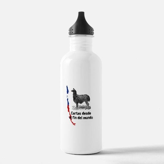 Cartas Chile Llama Water Bottle