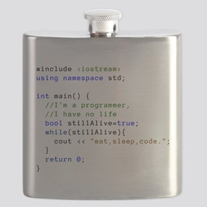 Eat, Sleep, and Code Repeatedly Flask