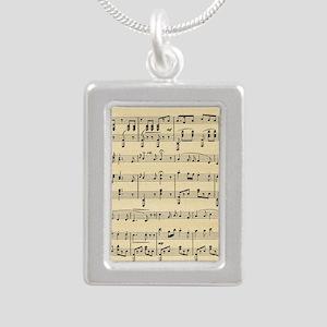 Antique Sheet Music Necklaces