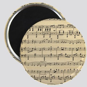 Antique Sheet Music Magnets
