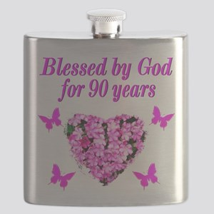 CHRISTIAN 90 YR OLD Flask