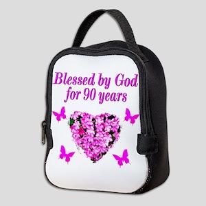 CHRISTIAN 90 YR OLD Neoprene Lunch Bag