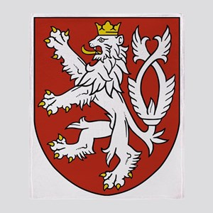 Coat of Arms czechoslovakia Throw Blanket